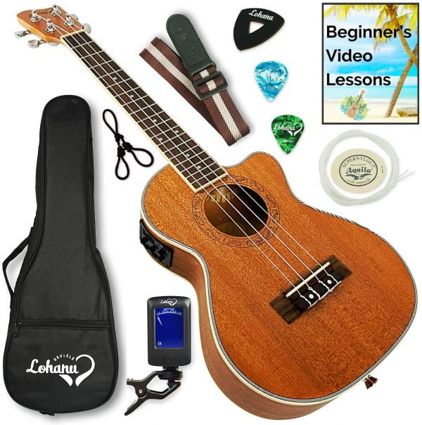 Ukulele from Lohanu Cutaway Electric - The Top-rated Ukulele